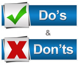 Do's and Don't of Website Navigation. Web design tips from EggStream Marketing.